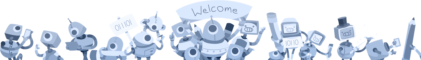welcoming robots